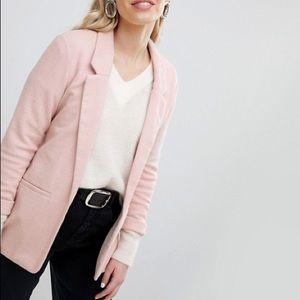 Parisian New Look Pointe Blazer Light Pink Nude